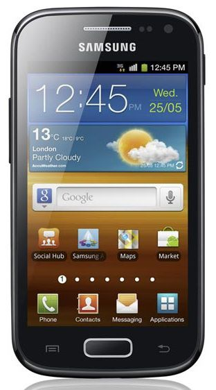Samsung Galaxy Ace 2 : milieu de gamme, Android Gingerbread