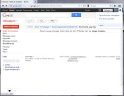 Annuler l'envoi d'un e-mail avec