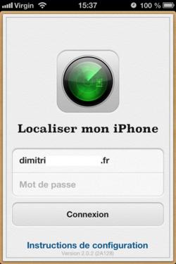 Localiser iPhone (5)
