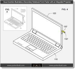 Asus notebook projecteur 2