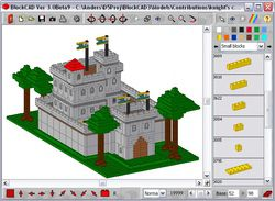 BlockCAD Portable screen1