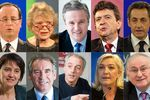 Candidats elections 2012