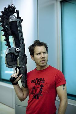 Cliff Bleszinski   game designer Epic Games