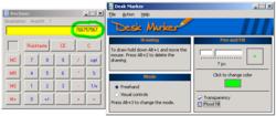 Desk Marker écrire l'écran lors