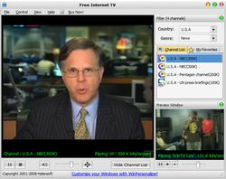 Free Internet TV screen 2