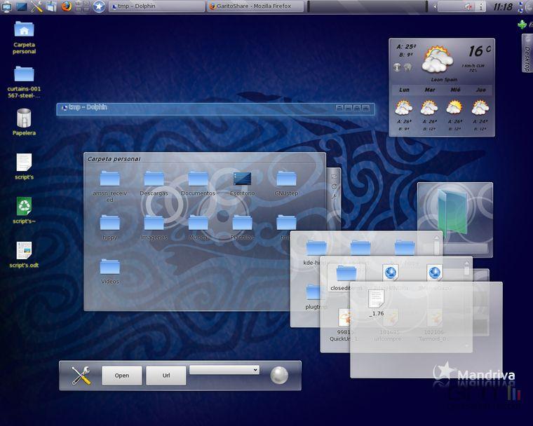Mandriva Linux 2010 Spring  - 760x608 - 50KB