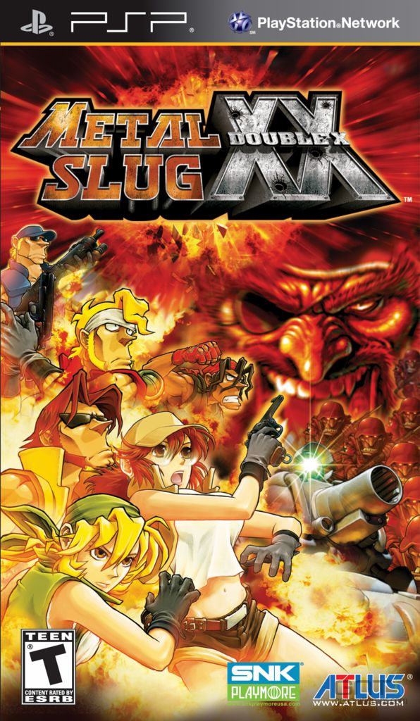 [Multi] Metal Slug XX [PSP]
