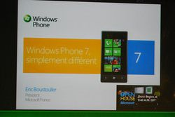 MIcrosoft Windows Phone 7 Conf 02