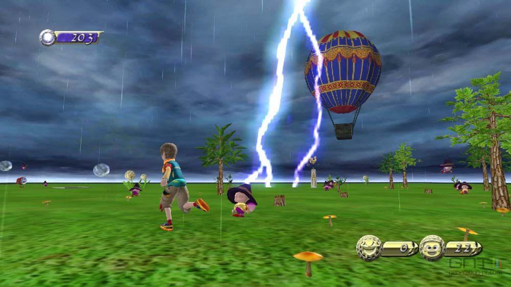 ... la chaîne météo de la Wii NiGHTS : Journey of Dreams - Météo - 7