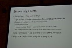 Palm SDK Enyo