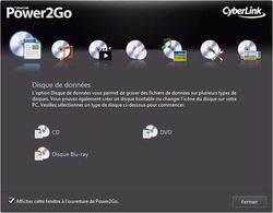 Power 2 Go 7 screen 1