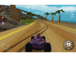 SuperTuxKart Portable screen 1