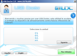 USB-Doctor screen