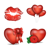 Valentine Love Icons screen 2