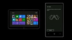 Windows Phone 8 NFC echange