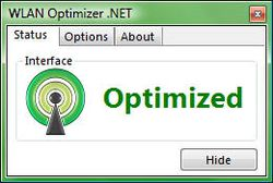 WLAN Optimizer screen2